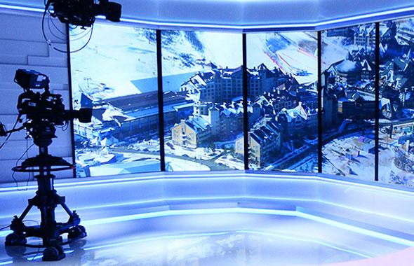 LED小间距助力欧洲知名电视台直播间